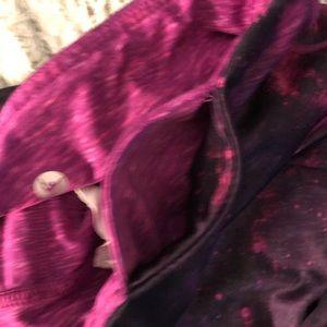 Danskin Pants - Small Danskin Galaxy/Pink Reversible Leggings